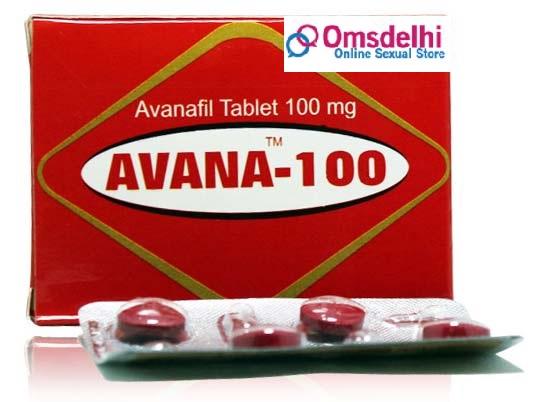 Buy Avanafil 100mg tablet online
